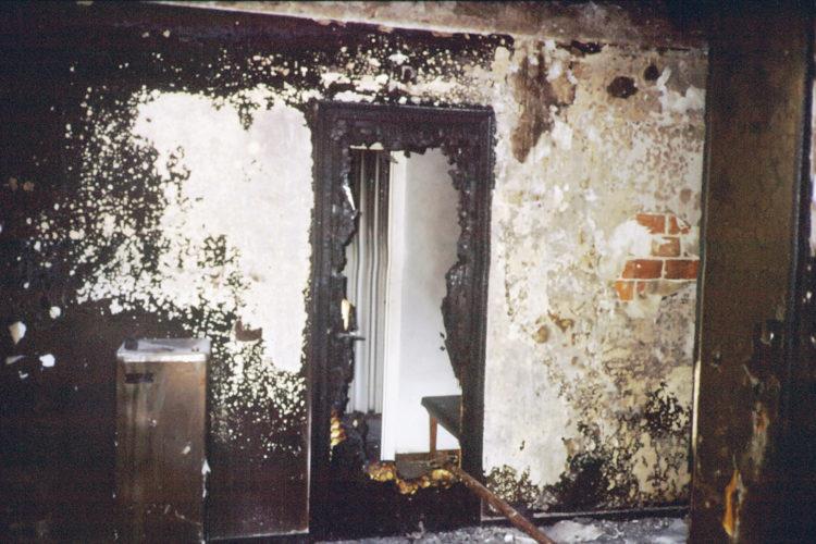 Protección contra incendios en hoteles.