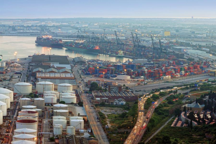 protección de infraestructuras críticas en puertos