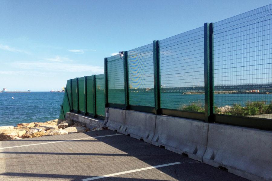 seguridad portuaria. Puerto de Tarragona