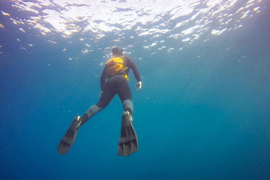 Detección submarina.