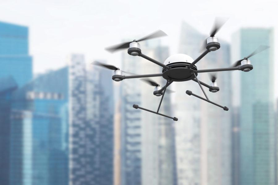 Drones hostiles.