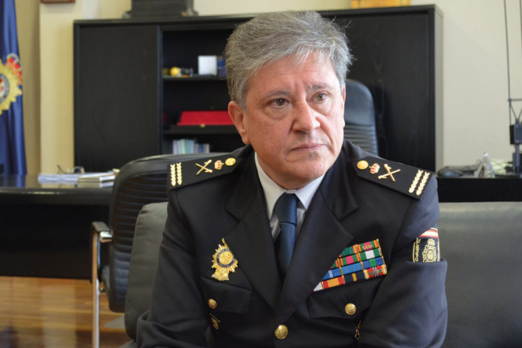Comisario principal Juan Carlos Castro, comisario general de Seguridad Ciudadana