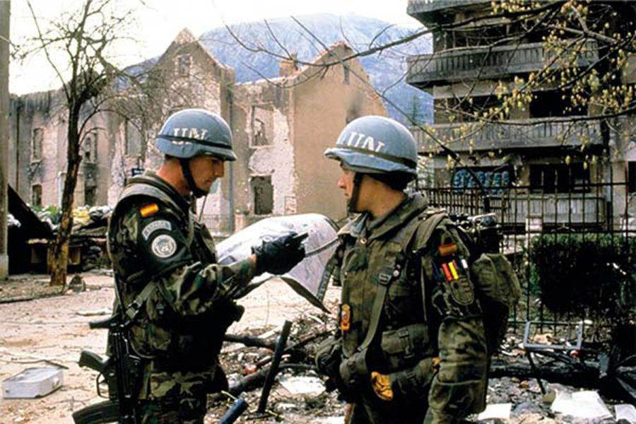 Brigada Paracaidista. Cascos azules (Naciones Unidas)