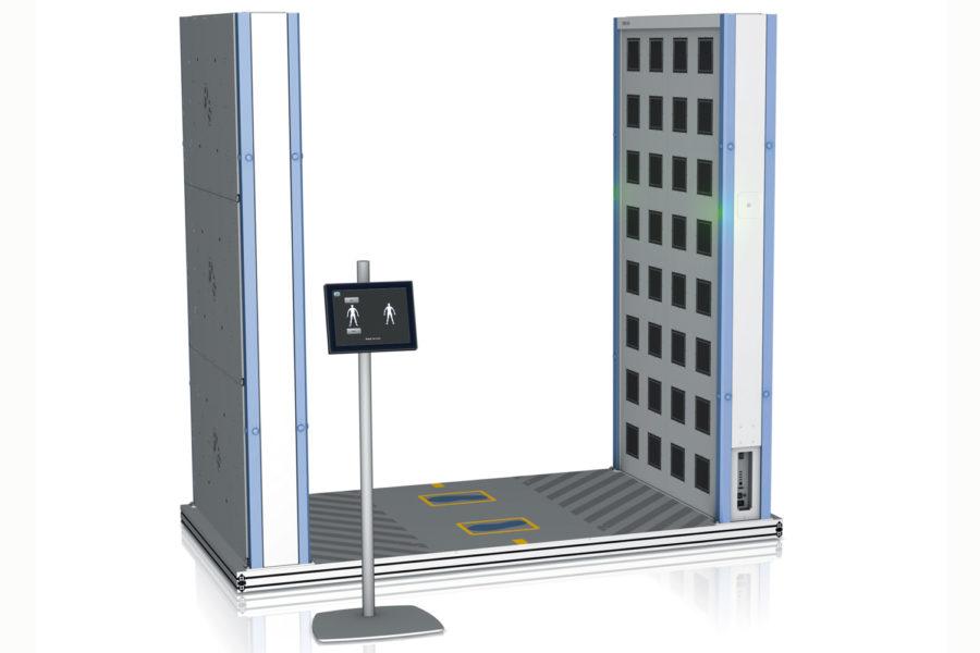 Escáneres corporales QPS 200 vista general.