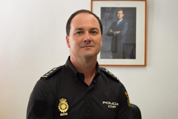 Javier Galván, interlocutor policial nacional sanitario