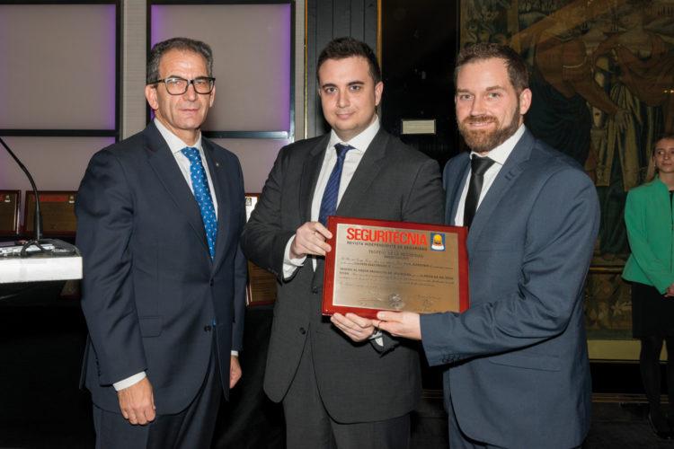 Trofeo al Mejor Producto de Seguridad Comercializado en España.