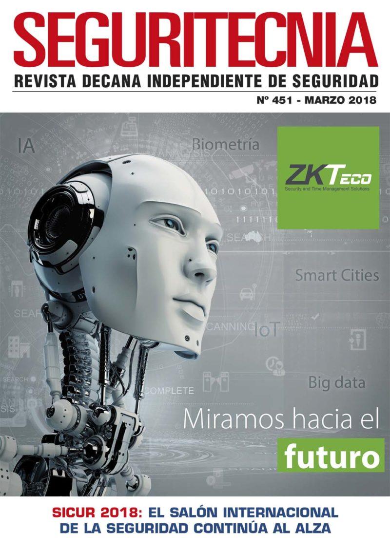 Revista Seguritecnia marzo de 2018