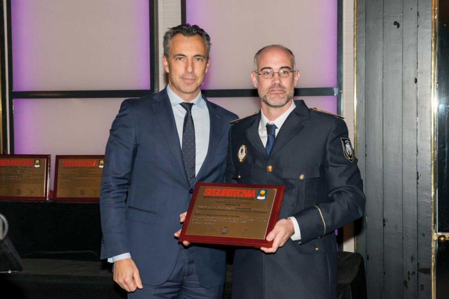 Trofeo al Mérito en la Protección Civil.