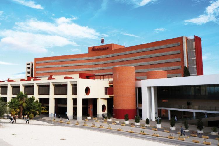 Seguridad sanitaria en Hospital Clínico Universitario Virgen de la Arrixaca en Murcia.