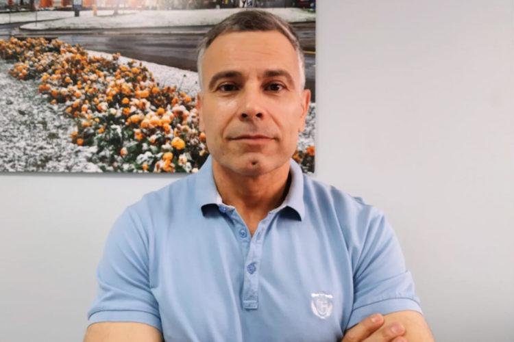 José López Cárceles, Responsable de Seguridad de Virgen de Arrixaca.