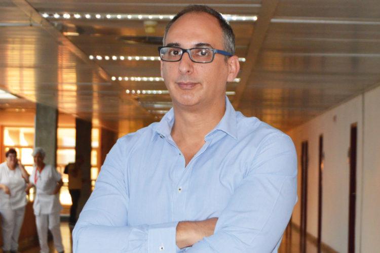 Pascual Aparicio, Responsable de Seguridad del Hospital Universitario Fundación de Alcorcón.