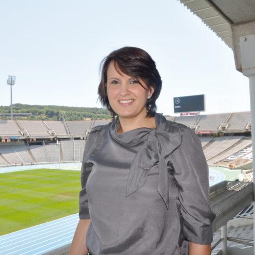 María Prados, directora de Seguridad de Barcelona 2013.