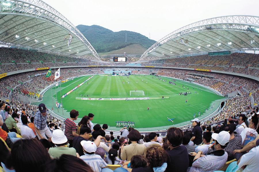 Eventos deportivos. Campo de fútbol.