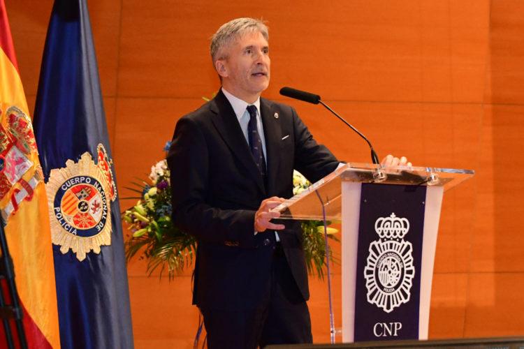 Fernando Grande-Marlaska aniversario Policía Nacional