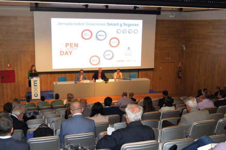 Inauguración de la jornada Open Day Smart Security