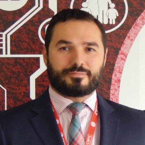 Jose Luis Perez Pajuelo, jefe de Planes y Seguridad del CNPIC