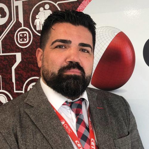 José Ramón Ferreira, jefe de la Oficina de Innovación Tecnológica del CNPIC