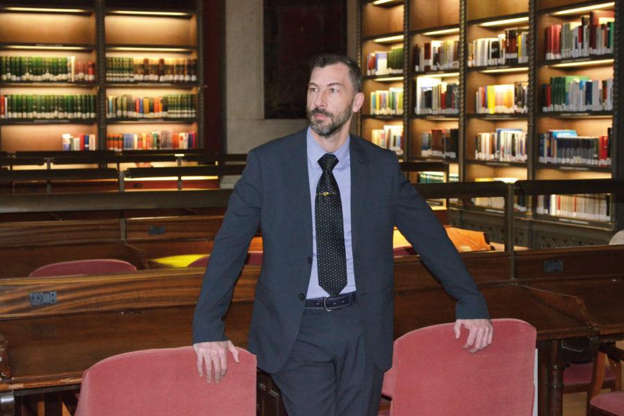 Jefe del Área de Seguridad y Mantenimiento de la Biblioteca Nacional de España. Seguridad Biblioteca Nacional.