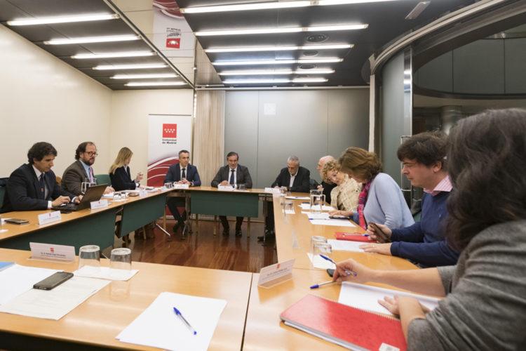 Reunión del Plan de Protección Civil ante Atentados Terroristas de la Comunidad de Madrid