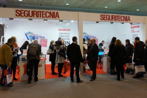 Estand de Seguritecnia en SICUR