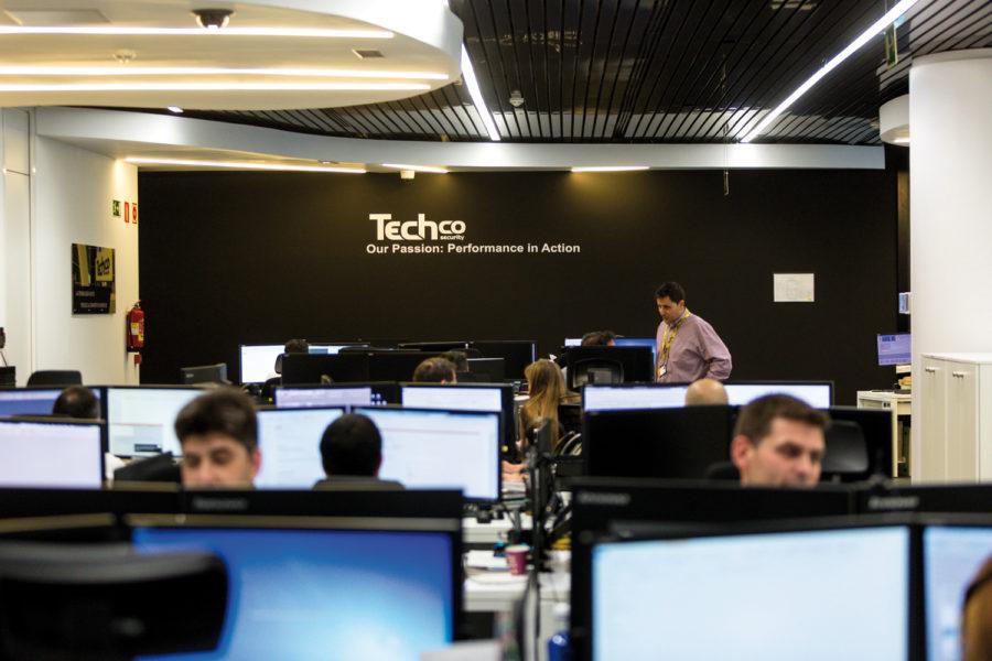 Instalaciones de Techco Security. CRA.