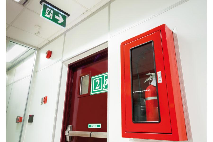 Extintores de incendios. Protección contra el fuego.