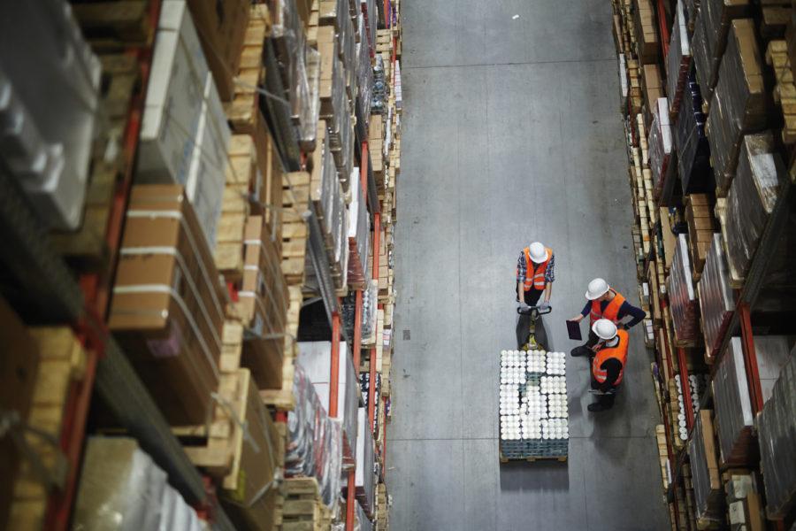 Protección en la industria logística.