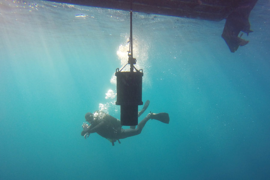 detección submarina