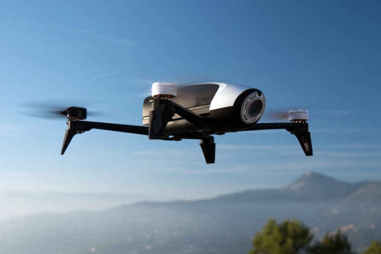 Uso de drones en la Comunidad de Madrid