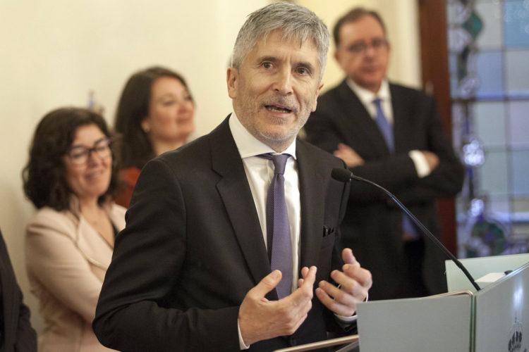 Fernando Grande-Marlaska relevo altos cargos Ministerio del Interior