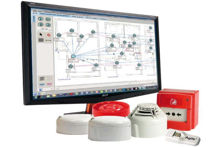 Sistema de detección de humo vía radio Agile.