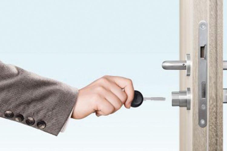 Cerradura electrónica iLOQ S10.