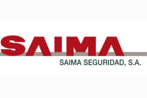 Saima Seguridad logo.