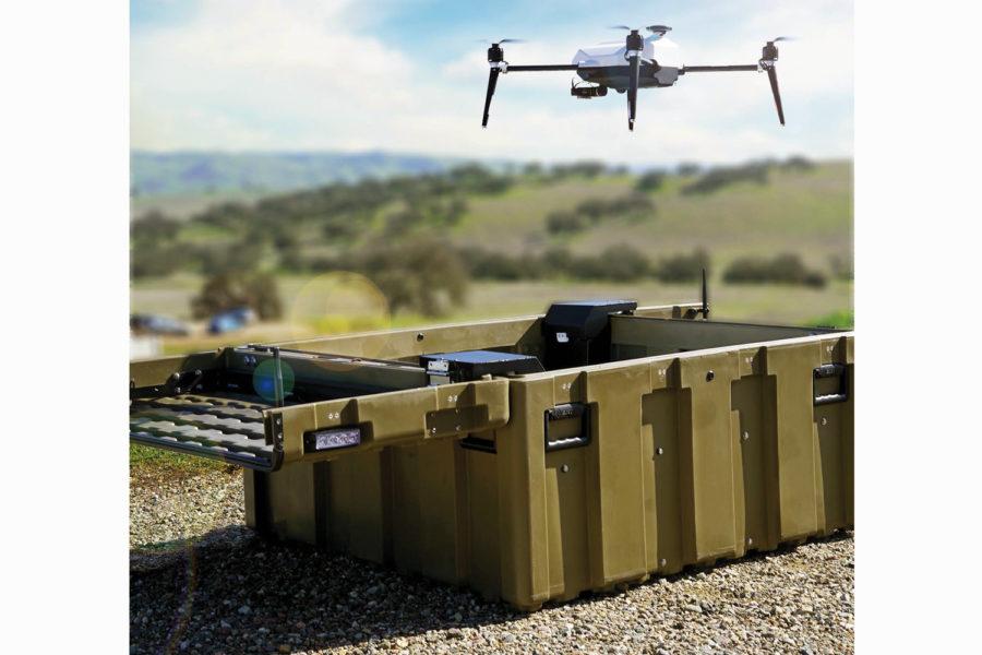 Drones autónomos.