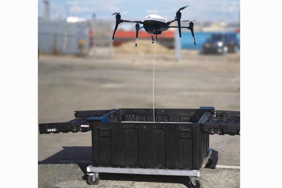SAMS-T drones autónomos.