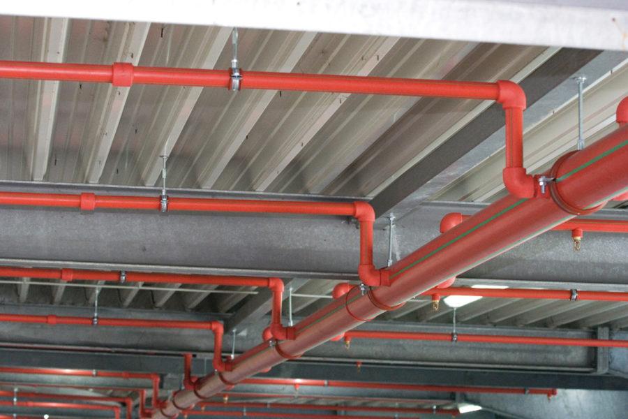 Tuberías. Instalaciones de protección contra incendios.
