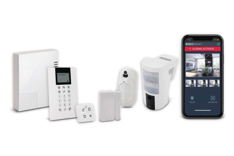 Sistema inalámbrico de seguridad WiComm Pro.