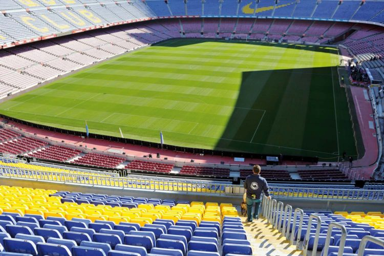 Evento de seguridad. Camp Nou.