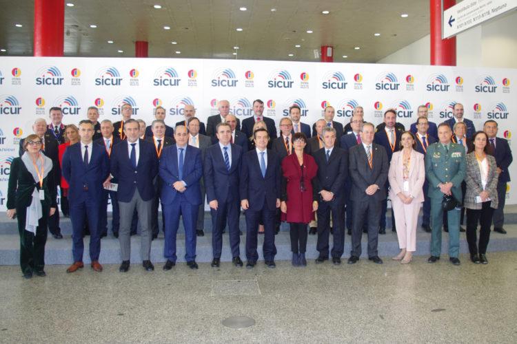 Comité Organizador de SICUR 2020.