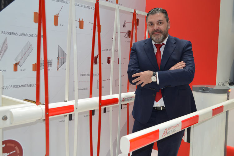 Jesús Garzón, director de ventas de Automatic Systems