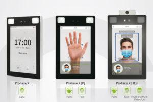 ProFace X Series de Zkteco. Verificación facial.