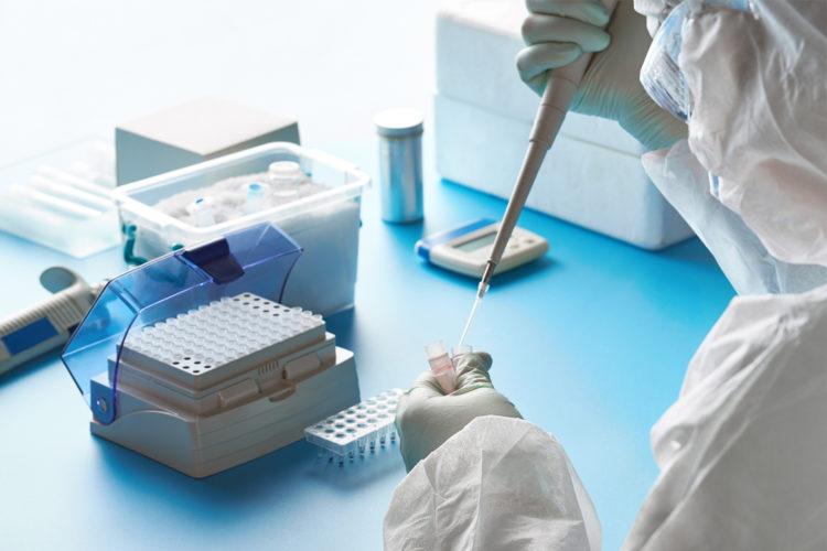 Analisis clinico en laboratorio