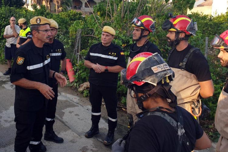 Unidad Militar de Emergencias UME Murcia Alicante