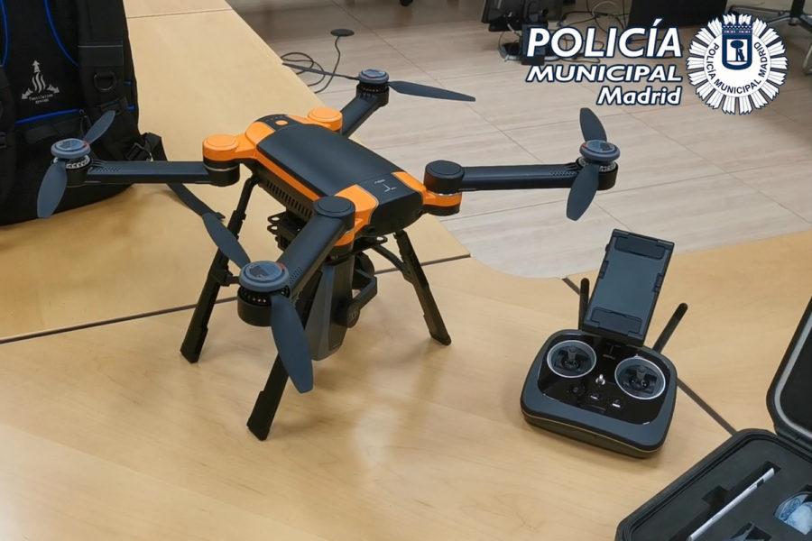 drones Policía Municipal
