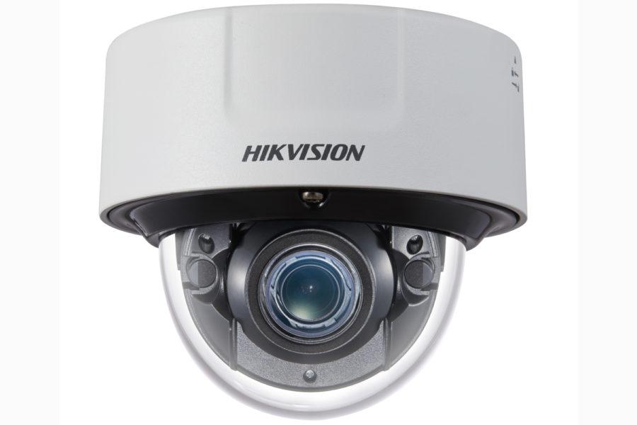 Cámaras de conteo de Hikvision.