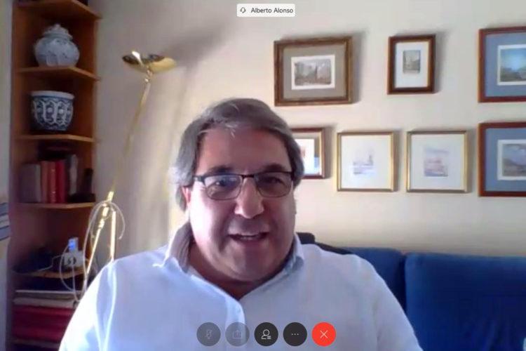 Alberto Alonso Axis tertulia digital Fundación Borredá