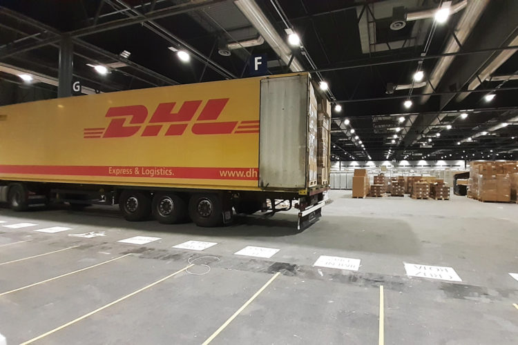 Camion DHL