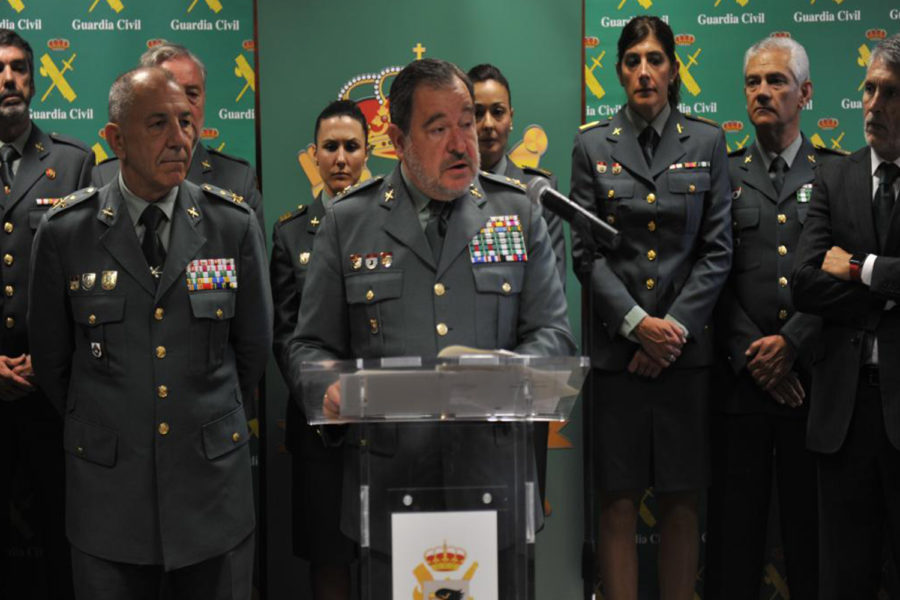 General de la Guardia Civil Pablo Salas