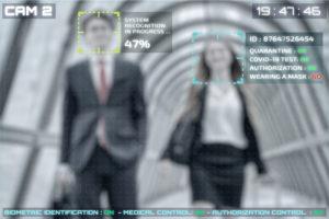 Dos personas identificadas a través de reconocimiento facial