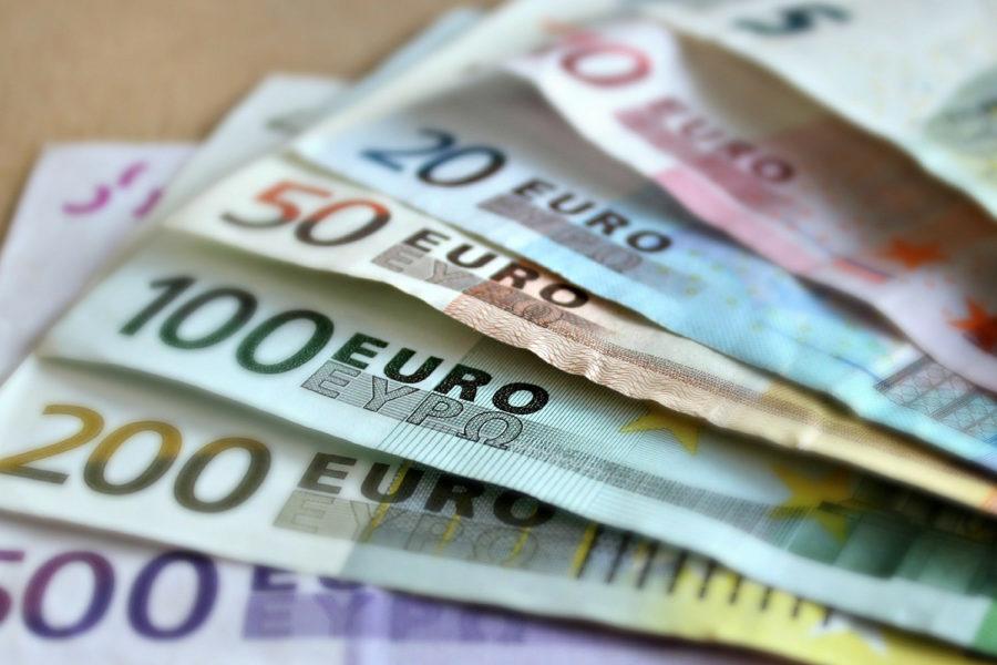 euros, efectivo, billetes